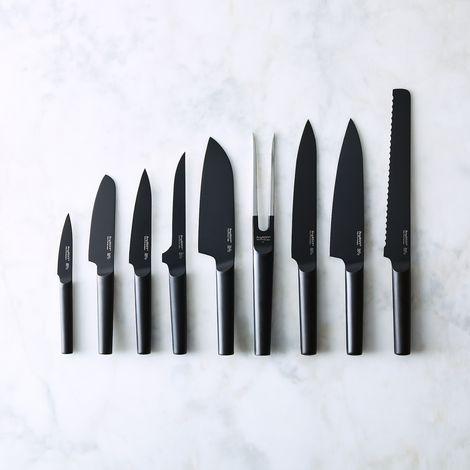 Modern Matte Black Knife Collection
