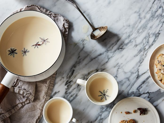 A Warm & Unexpected Spiced Milk, Alone or with Cookies
