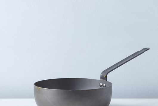 Mauviel M'steel Splayed Curved Sauté Pan