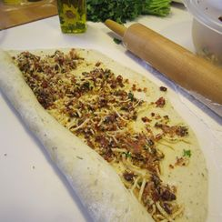 Baked Italian Pizza Roll