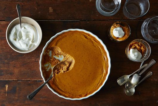 Pumpkin Pudding (aka No-Pie Pumpkin Pie)
