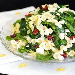 Wilted Arugula Pasta Salad