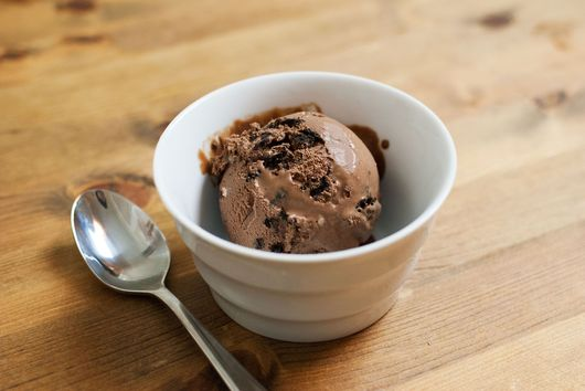 Boozy Dark Chocolate Cookies n' Cream Ice Cream