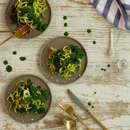 Kale and Pesto Pasta