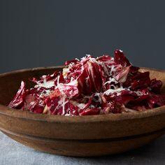 Toro Bravo's Radicchio Salad with Manchego Vinaigrette
