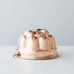 Vintage Copper Swirl Mold, Late 19th Century