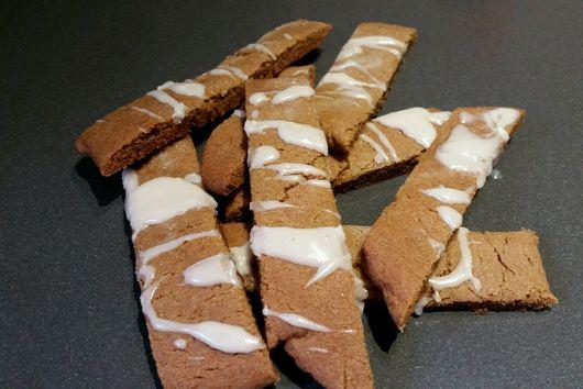 Iced Ginger Strips