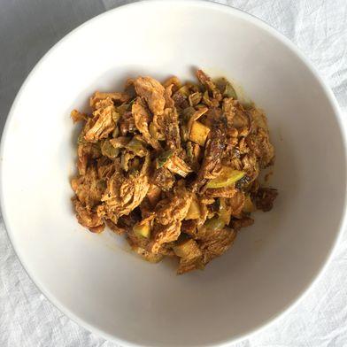 North African Grilled Chicken Salad