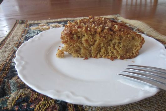 Orange pecan coffee cake