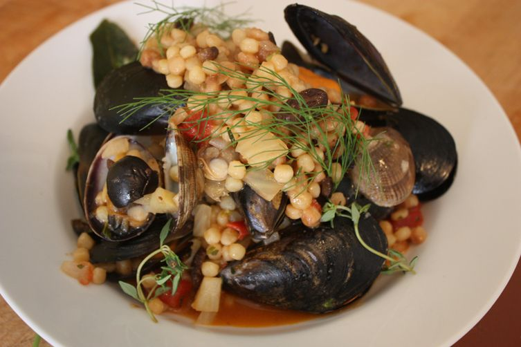 Fregola with Clams & Mussels