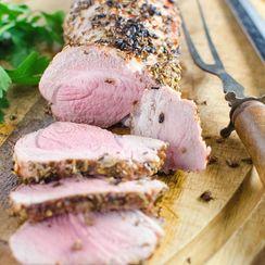 Dry-Rubbed Pork Tenderloin