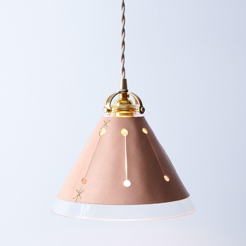 Leather Shade Pendant Lamp On Food52
