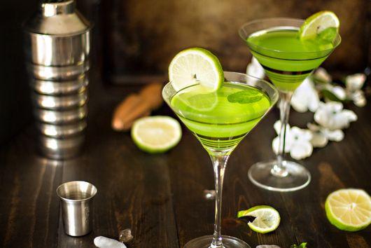St. Patrick's Day Martini – Melontini