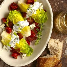 Little Gem Salad with Buttermilk Herb Dressng