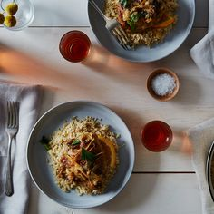 Spicy Braised Chicken with Citrus and Rhubarb
