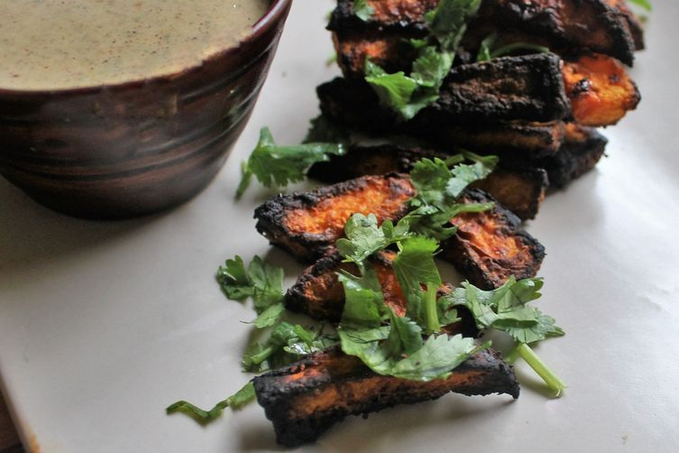 Roasted Squash, Asian Dipping Sauce
