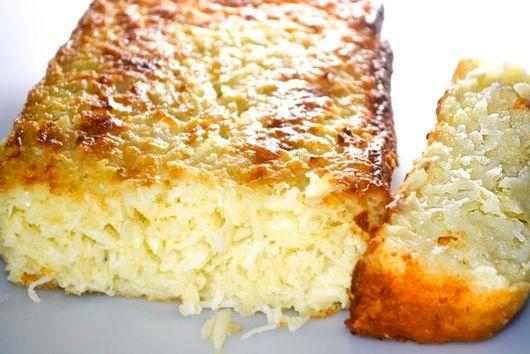 CASSAVA COCONUT CAKE