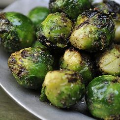 Dinner Tonight: Grilled Brussels Sprouts + Merguez