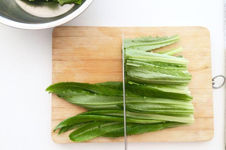 Chinese Sesame Lettuce Salad