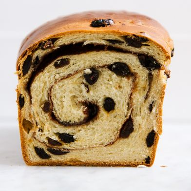 Cinnamon-Raisin Swirl Bread