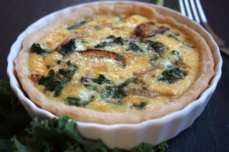 Kale Quiche Recipe on Food52
