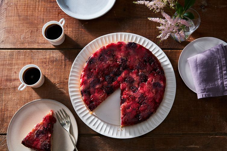 Berry Upside Down Cake