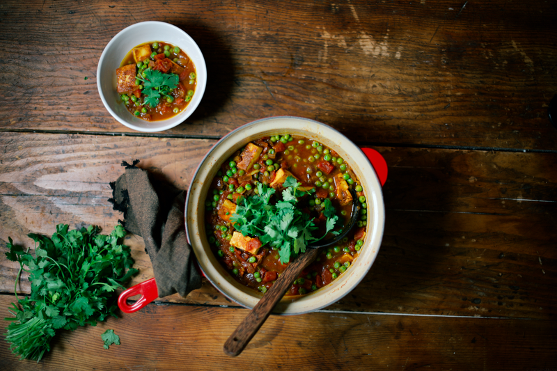 Make Your Own Mattar Paneer (Starting with the Cheese)