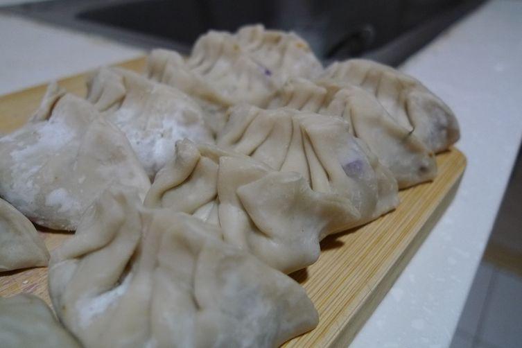 """Crack"" Dumpling with Crispy Rice (guoba)"