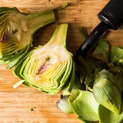 The Video of a Man Peeling Artichokes We Have on Repeat