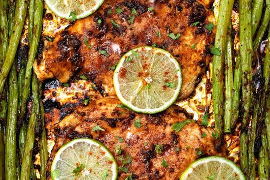 Oven-Baked Chicken Breasts by Healthy Kitchen 101
