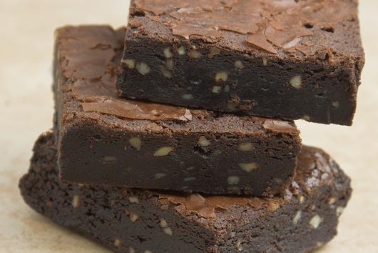 Velvet Fudge Brownies