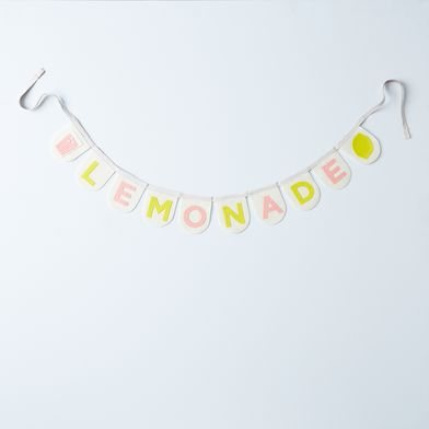 Lemonade Stand Felt Banners