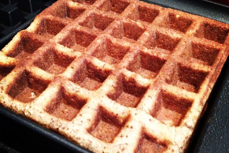 Walnut Coconut Bacon Waffles