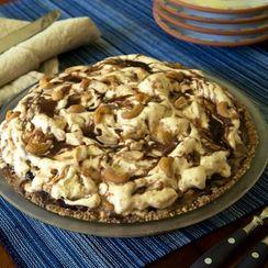 Hot Fudge Peanut Butter Ice Cream Pie