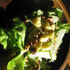 Apple, Hazelnut and Cheddar Salad