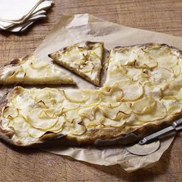 Apple Tarte Flambée