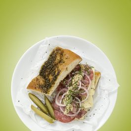 Olive CHA!-penade Goat Cheese Spread