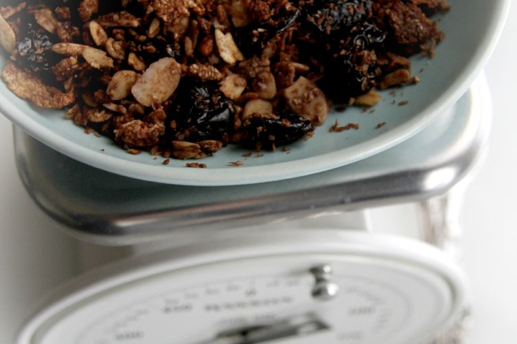 Chocolate Cherry Coconut Granola