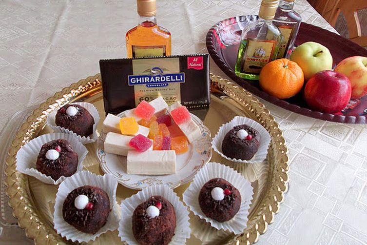 """Chocolate Rum Balls """"Kartoshka"""", Chocolate Icebox Cake and Chocolate Roll (One Recipe Three Decadent Desserts)"""