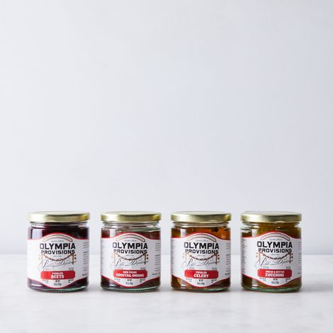 Pickled Vegetable Sampler (4-Pack)