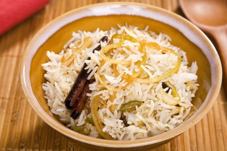 BASMATI RICE WITH BLACK CARDAMOM AND LIME RECIPE
