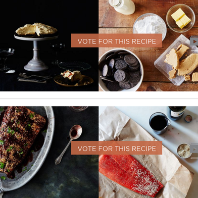 How do food52 recipe contests work vote for the winner of your best recipe made with sesame forumfinder Choice Image