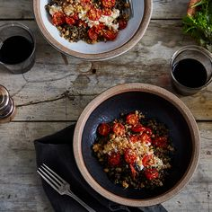 Anna Jones' Favorite Lentils with Roasted Tomatoes & Horseradish