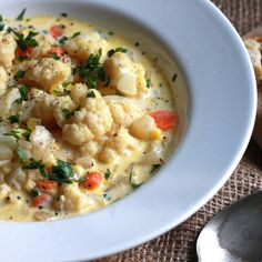 Cauliflower Corn Chowder