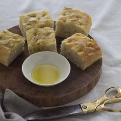 Focaccia Bread (focaccia) - Liguria, Antipasto (Starter)
