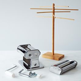 Pasta Machine & Drying Rack