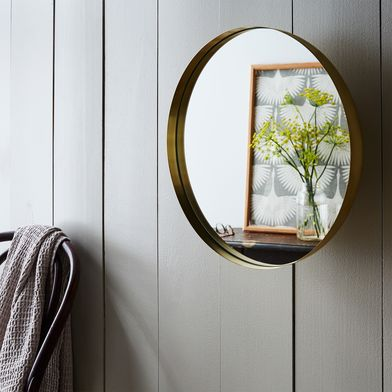 Brass Darkly Mirror