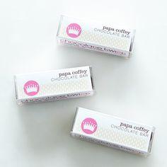 Papa Coffey Chocolate Bars (Pack of 3)