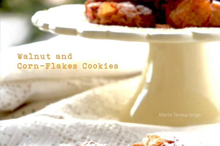 Corn Flakes and Walnuts Cookies