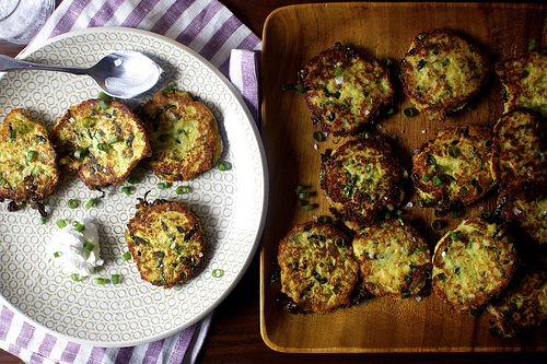 Potato Scallion Cakes